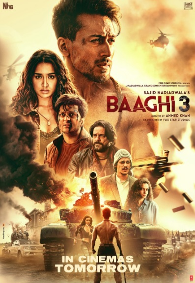 Baaghi 3 2020 Full Movie Download