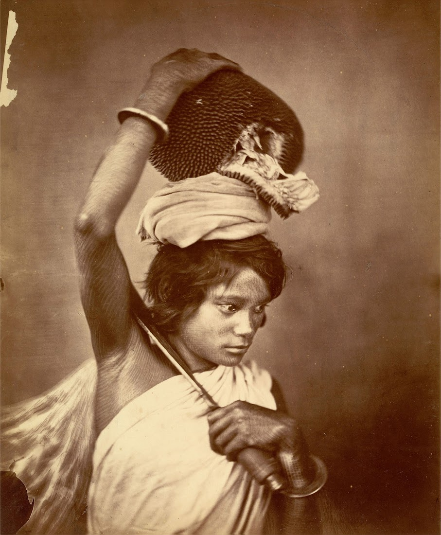 Kochh Mandai woman of Eastern Bengal - 1860's