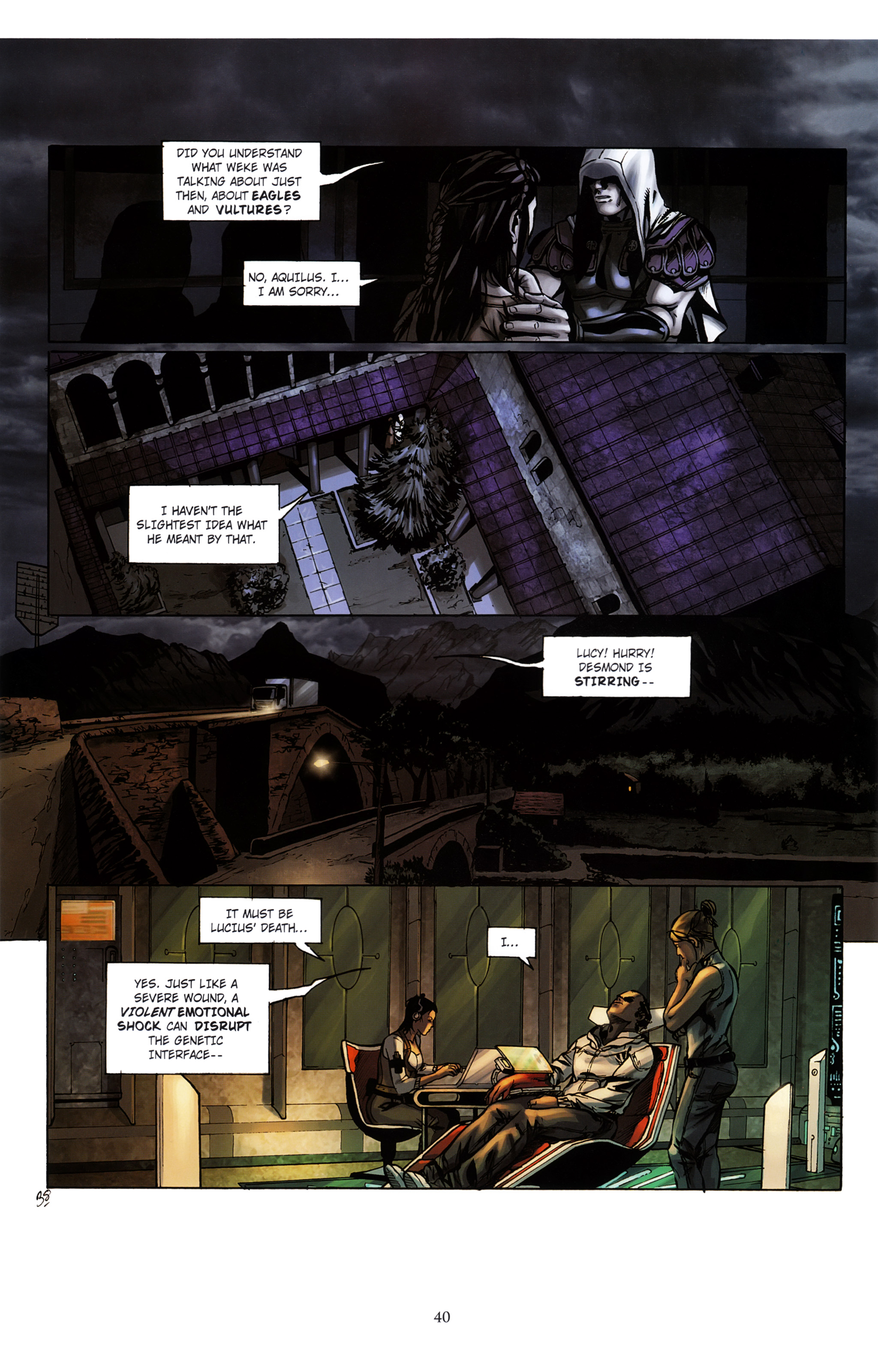 Read online Assassin's Creed (2012) comic -  Issue #2 - 44