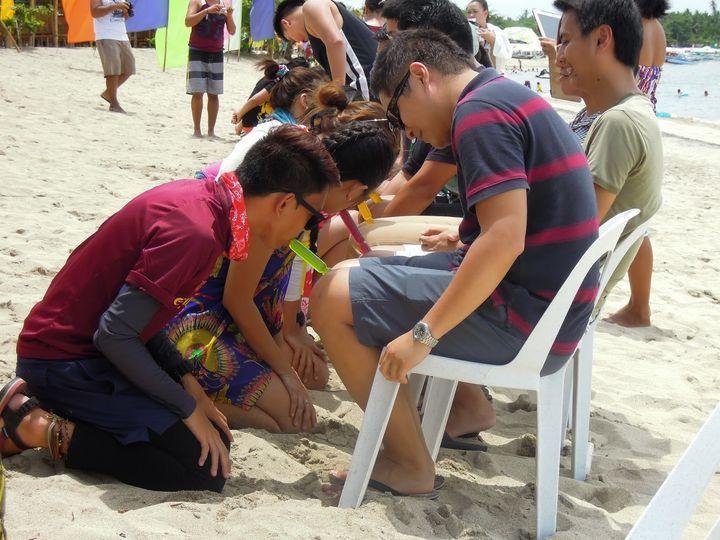 Teambuilding at Laiya Coco Grove Beach Resort