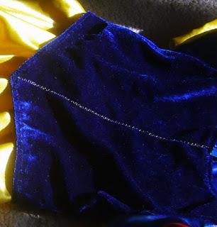 Detalle disfraz Blancanieves