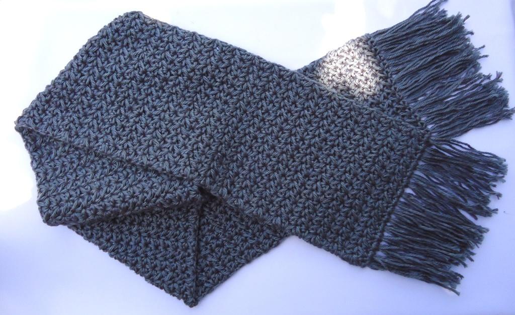 Stitch Of Love Crochet Scarf With Galaxy Stitch