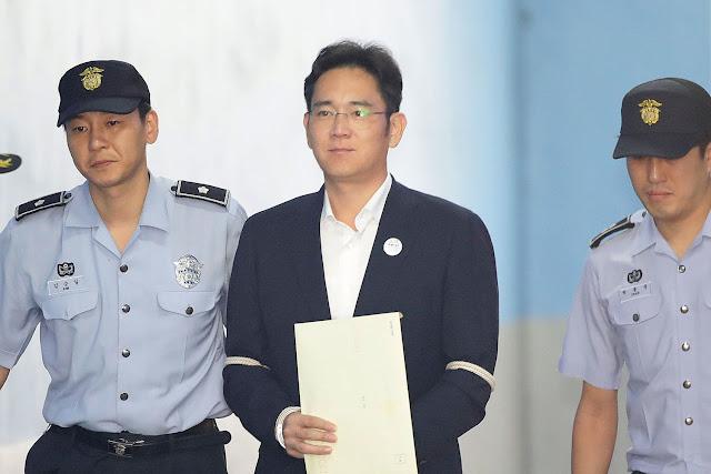 Lee Jae-yong sai da prisão