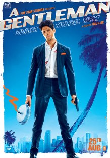 A Gentleman Upcoming movie Sidharth Malhotra New Poster & Release date