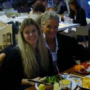 My mum & me,