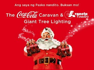 Coca-Cola Caravan & Araneta Center Giant Tree Lighting