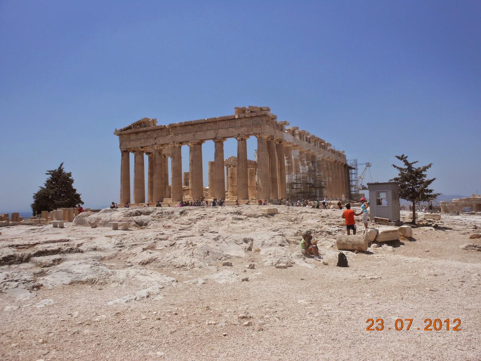 Partenon - Acrópole - Atenas - Grécia