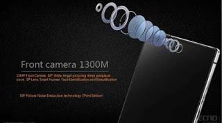 Tecno Camon C10 (CX)  Front camera, picture