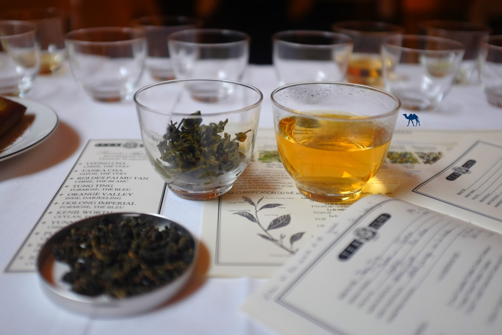 Le Chameau Bleu - Tea Club - Dégustation thé Mariage Frères Paris