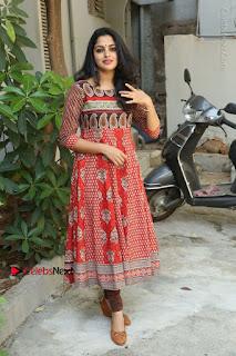 Telugu Actress Nikhila Vimal Latest Stills in Anarkali Dress  0220.JPG