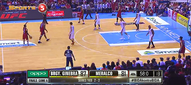Ginebra def. Meralco, 92-81 (REPLAY VIDEO) October 16 - FINALS Game 5