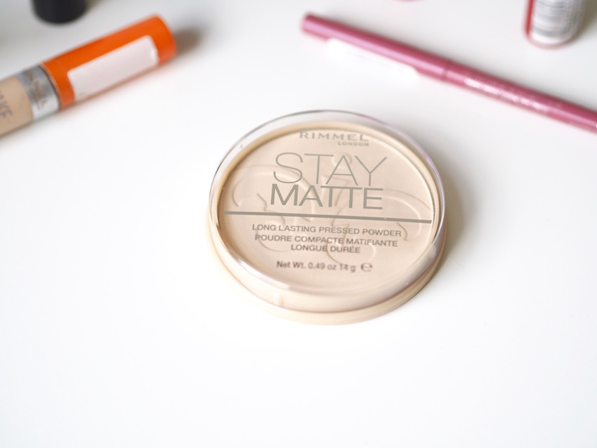 BEST RIMMEL PRODUCTS PRESSED POWDER STAY MATTE