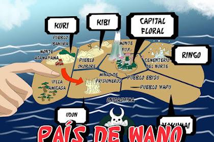 Peta Wano Country One Piece Resmi Terungkap!