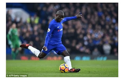 Revealed!.. Chelsea star N'Golo Kante collapsed during training session ahead of Manchester City clash