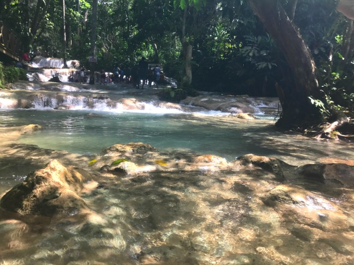 what is the best time of day for dunn's river falls in jamaica