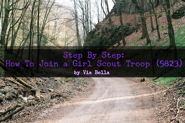 Step By Step: How To Join a Girl Scout Troop (5823), Joining Girl Scouts, How to join girl scouts, troop 5823, girl scouts, gscnc, step by step. multi-level troop, daisy, brownie, junior, cadette, senior, ambassador