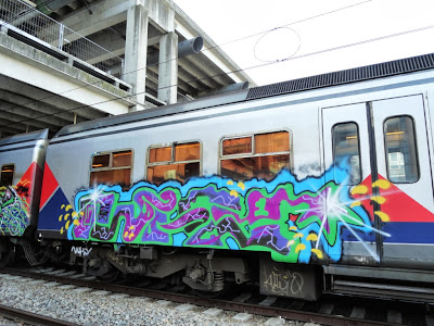 Art on train