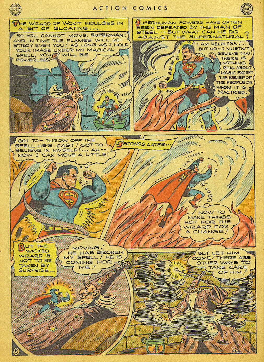 Read online Action Comics (1938) comic -  Issue #86 - 10