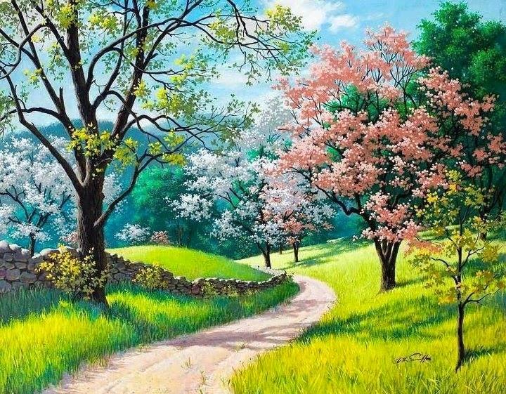 doğa manzaralı resimler