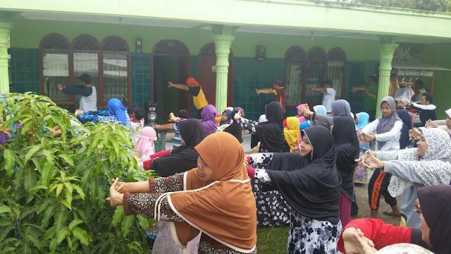 Sehat dengan Senam Nusantara Bersama PKS Medan Denai