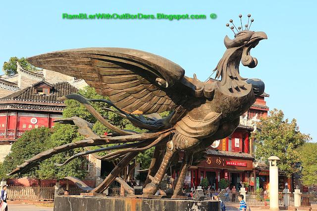 Phoenix Square, Phoenix Fenghuang County, Hunan, China