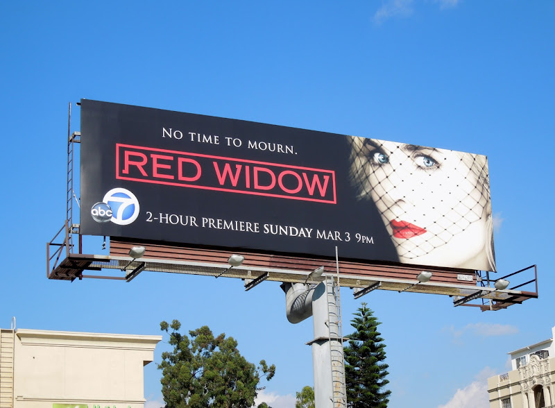 Red Widow season 1 billboard