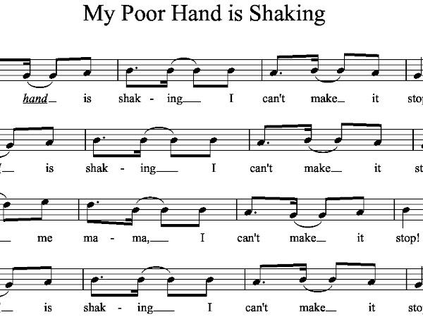 My Poor Hand is Shaking