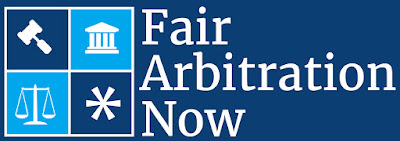 Fair Arbitration Now logo