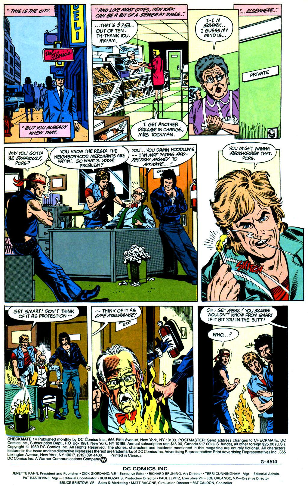 Checkmate (1988) 14 Page 2