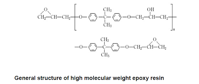 general structure of high molecular weight epoxy resin