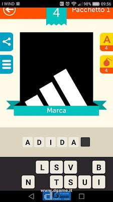 Iconica Italia Pop Logo Quiz soluzione pacchetto 1 livelli 4-25