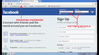 Hack Facebook Account Password By Phishing