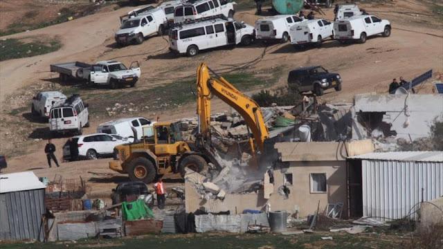 Israel derriba tres escuelas palestinas en Cisjordania