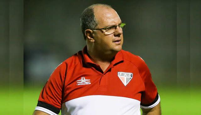 Marcelo Vilar é o novo técnico do Horizonte.