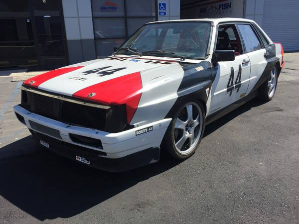 1986 Audi 4000 Quattro Turbo Race Car