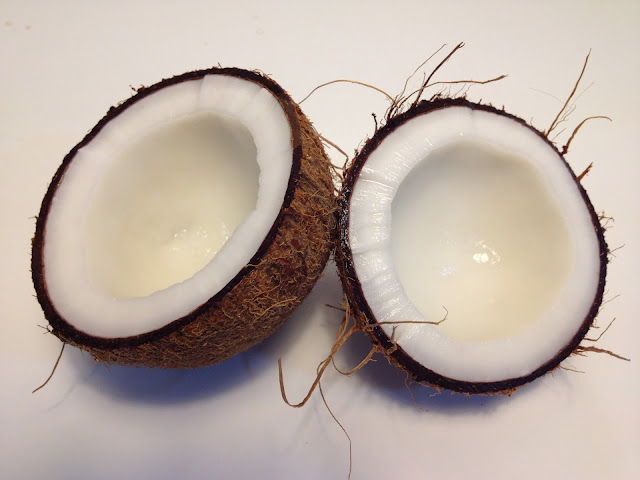 coconut oil for hair and skin care