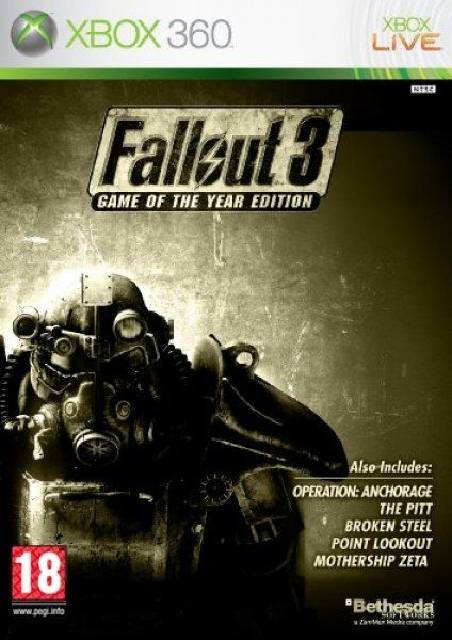 Fallout 3 game of the year edition glitches