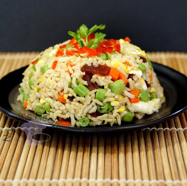 Bak kwa fried rice ccuart Choice Image