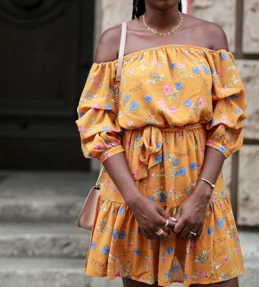 Outfit: Printed Summer Dress