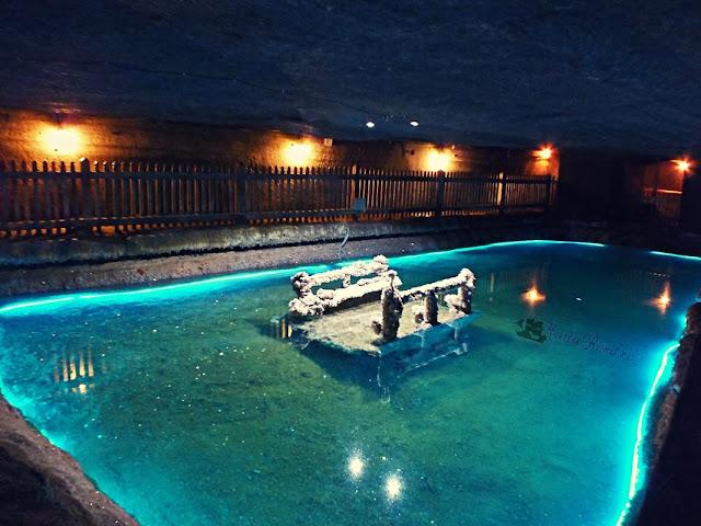 lacul de cristal salina cacica