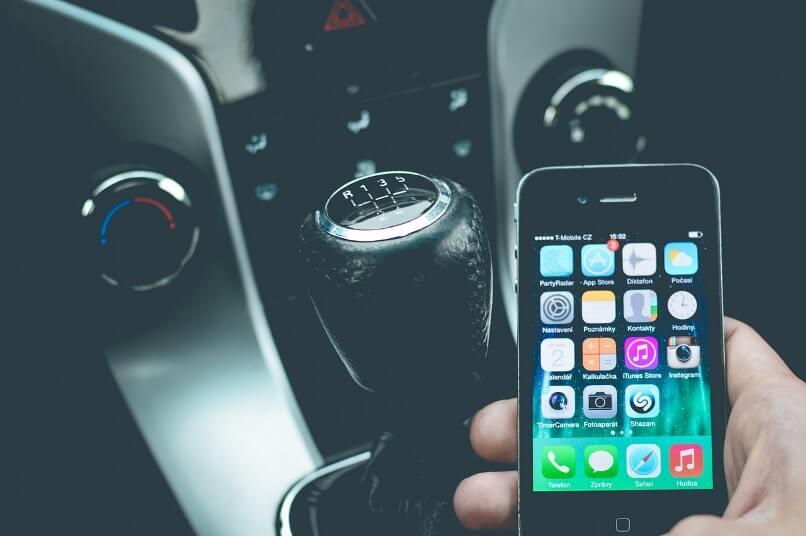 Smartphone para coche