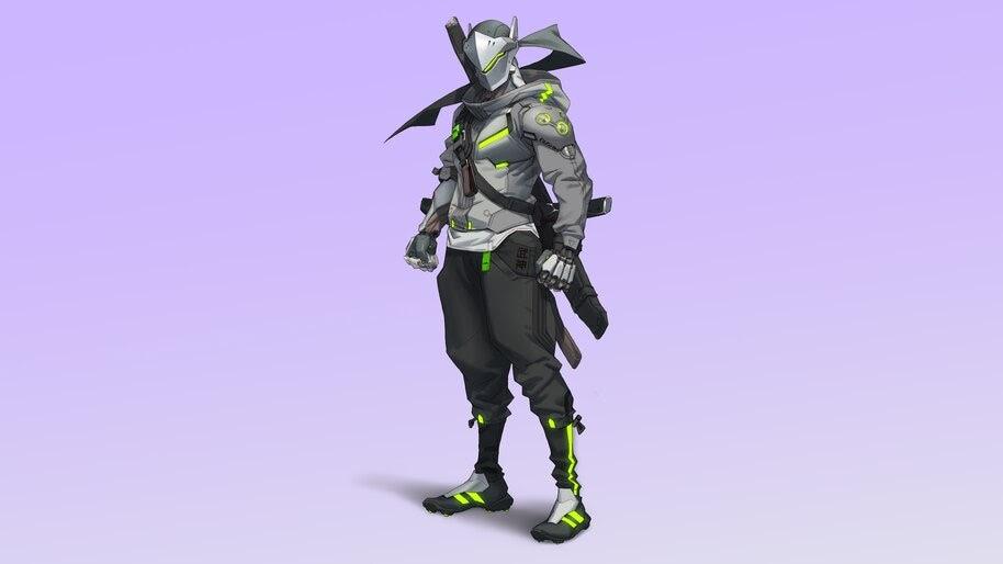 Overwatch 2, Genji, 8K, #7.227