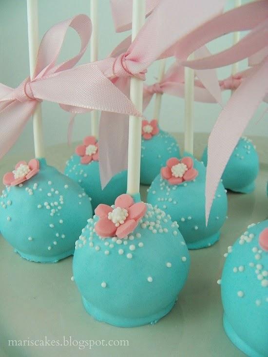 Cake Pops Reine Des Neige