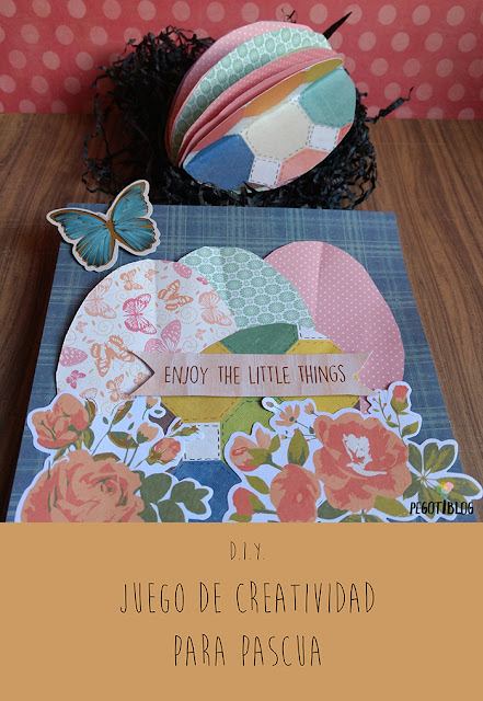 3 ideas craft con papel y huevos de pascua