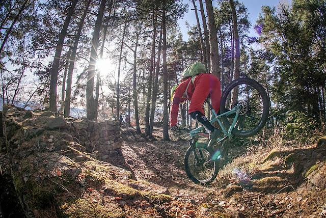 Mountainbike Tour Bozen Jenesin Flak und Burg