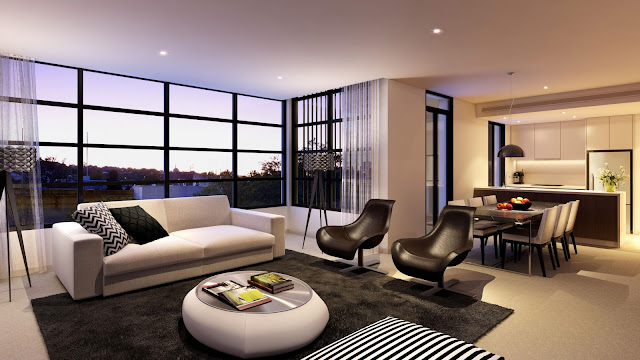 Thiết kế chung cư đẹp - Mẫu số 15