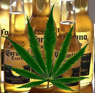 Corona invierte en la marihuana