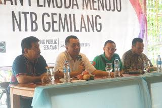 <b>Gubernur NTB Berikan Motivasi Mahasiswa NTB Di Jakarta</b>