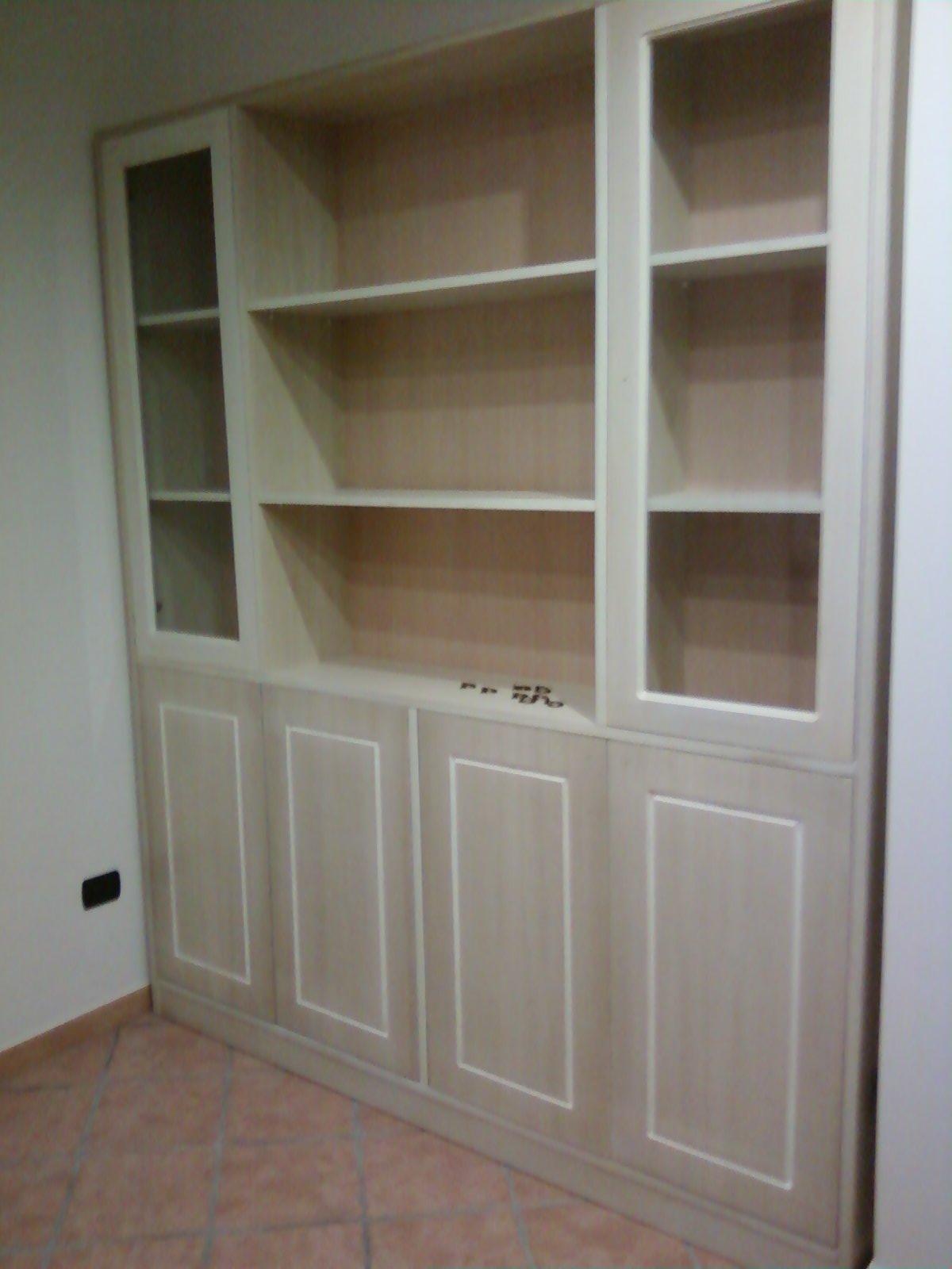 Libreria Scorrevole Fai Da Te fai da te hobby legno: libreria incassata