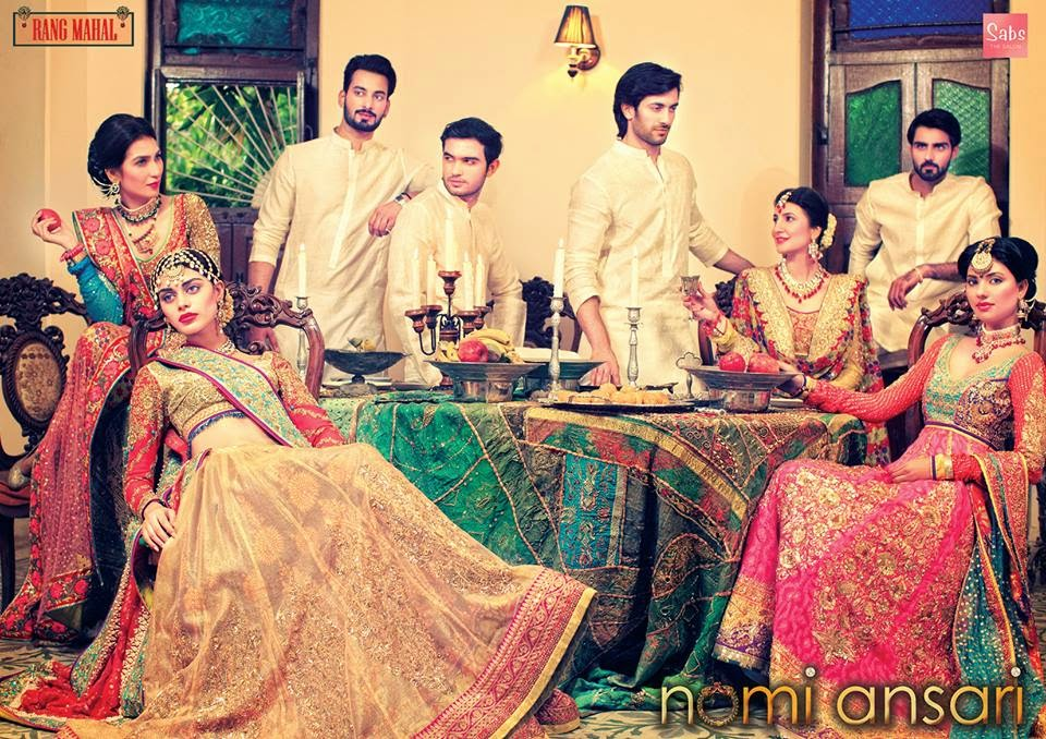 Nomi Ansari Rang Mahal Collection 2014